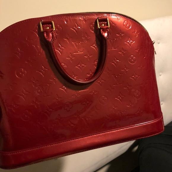 Louis Vuitton Bags Candy Apple Red Lv Purse Poshmark
